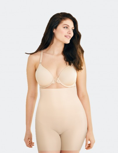 DM2561 MAIDENFORM SLEEK SMOOTHERS PAÇALI UZUN BEL KORSE