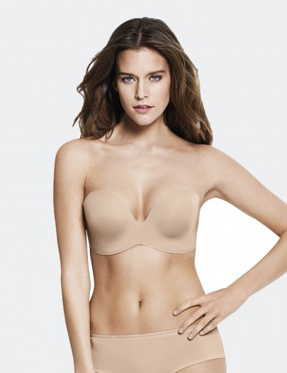 W032D WONDERBRA BASIC STRAPLESS BRA (SG001)