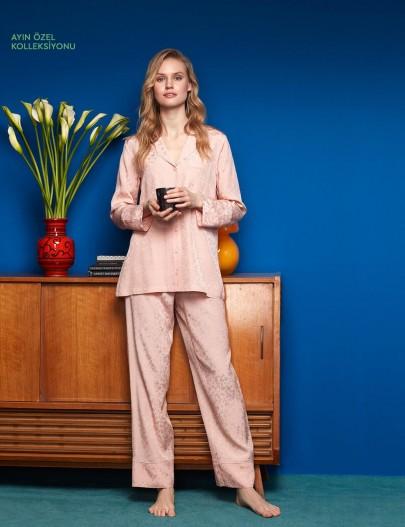 8605 Penye Mood Pijama Takımı