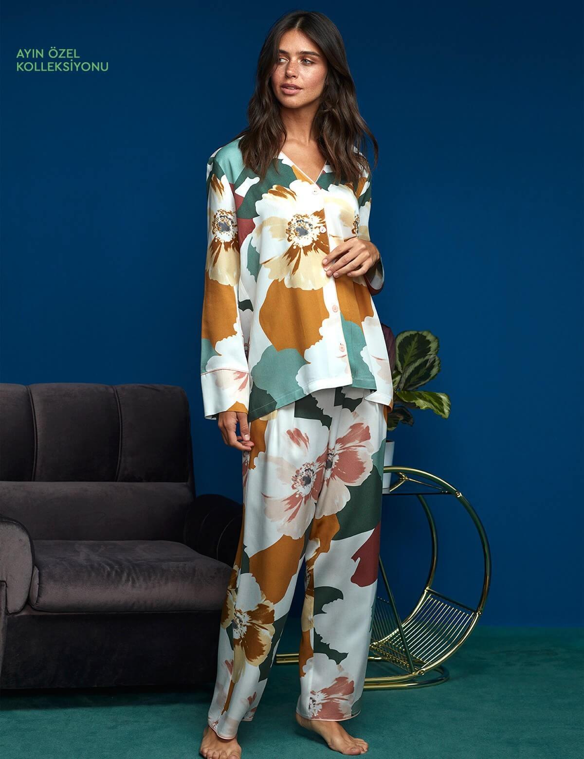 8604 Penye Mood Pijama Takımı