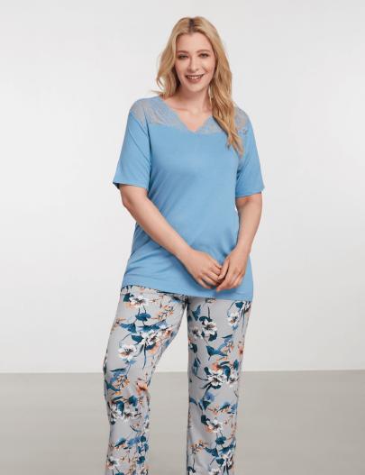 9081 Be Curvy Pijama Takımı