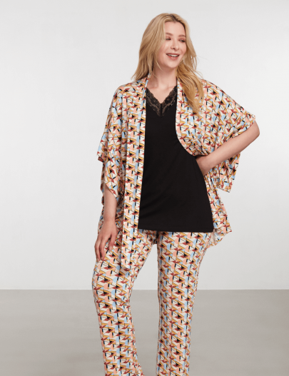 9086 Be Curvy Pijama Takımı